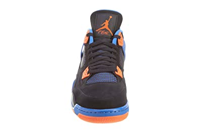 100% authentic d9ae7 671b0 Amazon.com   NIKE Air Jordan Men s 100% Authentic DS NIB 4 IV Retro Cavs  2012 308497-027 Black Safety Orange Game Royal Leather US11   Basketball