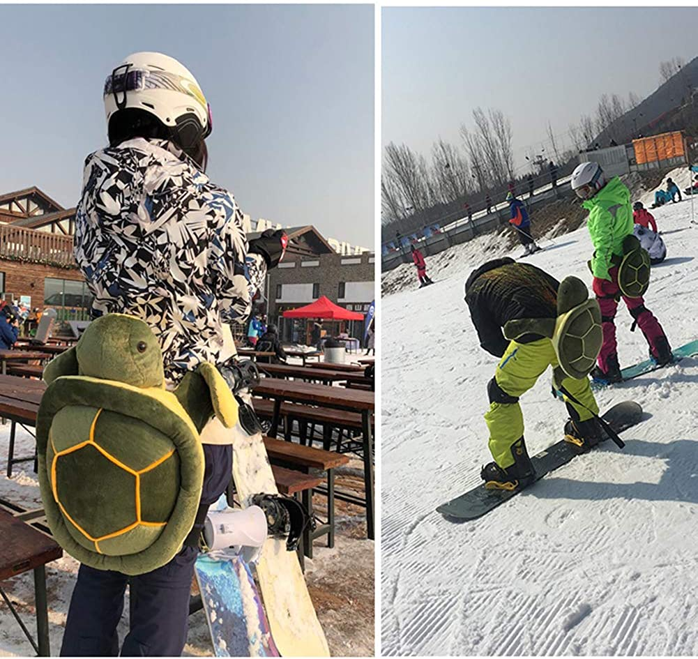 Amazon Com Elegeet Protective Gear For Skiing Skating Snowboarding Cute Turtle Tortoise Cushion Clothing