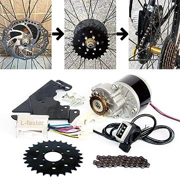 L-faster 24V250W Bici Kit de Motor de accionamiento Lateral ...