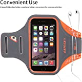 iPhone 6S Armband, Haissky Sports Running Armbands for iPhone 6 6S Samsung Galaxy S7 S6 S6 Edge S5 S4 4.7 - 5.2 inch Smartphone Arm Band Case with Key ID Card Money Holder for Workout Exercise Fitness