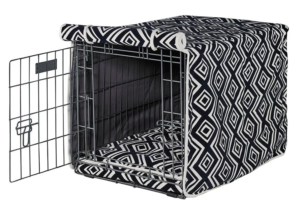 Luxury Crate Cover in Azure (XXL - 30 in. L x 48 in. W x 33 in. H)