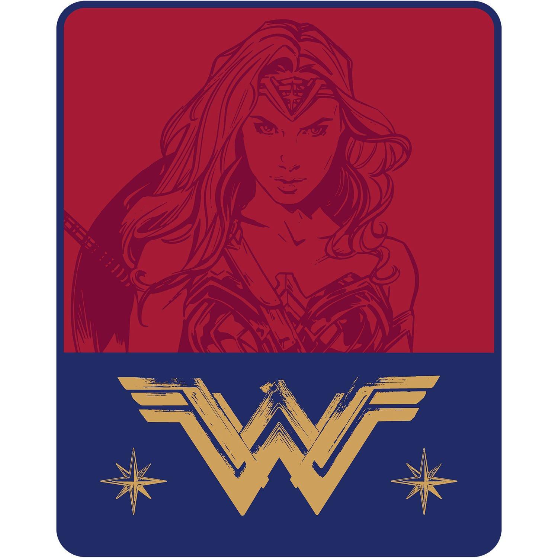 Wonder Woman Plush Throw Blanket - 40'' x 50''