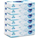 FINE Facial Tissues - Pack of 6 Boxes, 100 Sheets x 2 Ply