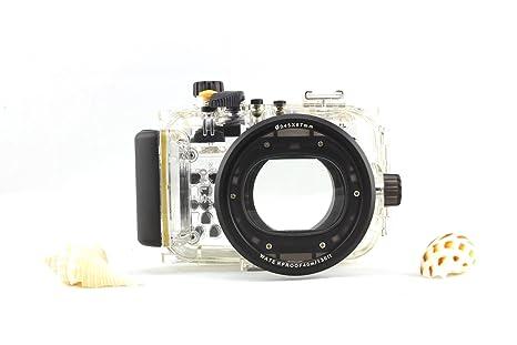 Meikon carcasa submarina para cámara Canon PowerShot S110: Amazon ...