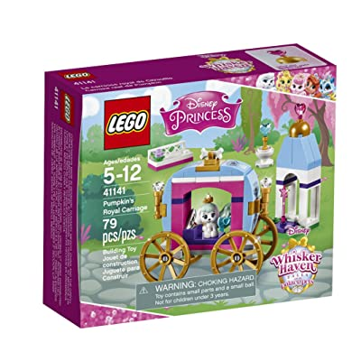 LEGO Disney Princess Pumpkin's Royal Carriage 41141: Toys & Games