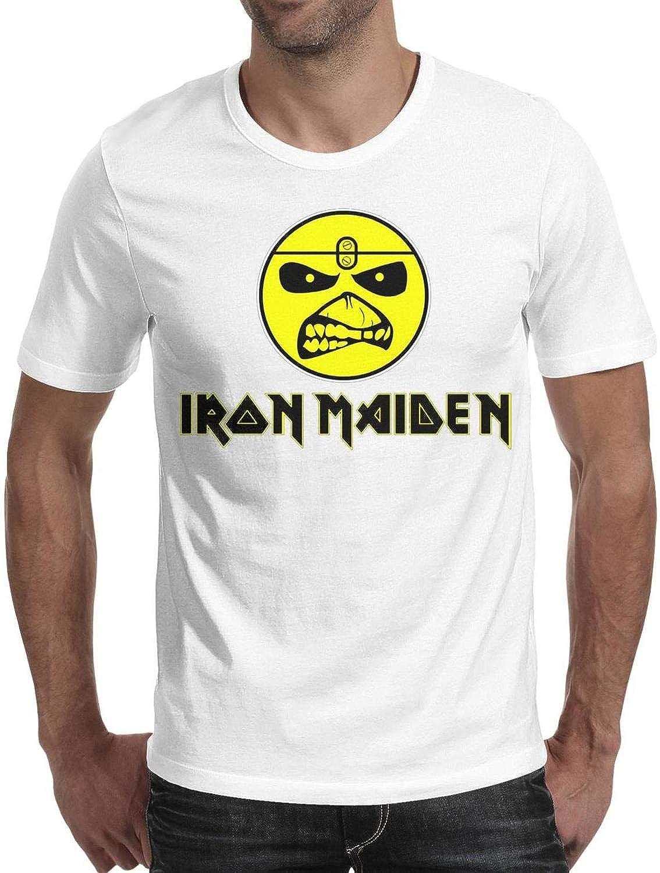 Iron Maiden Albums Nine Eddies Steve Harris Official Tee T-Shirt Mens Unisex