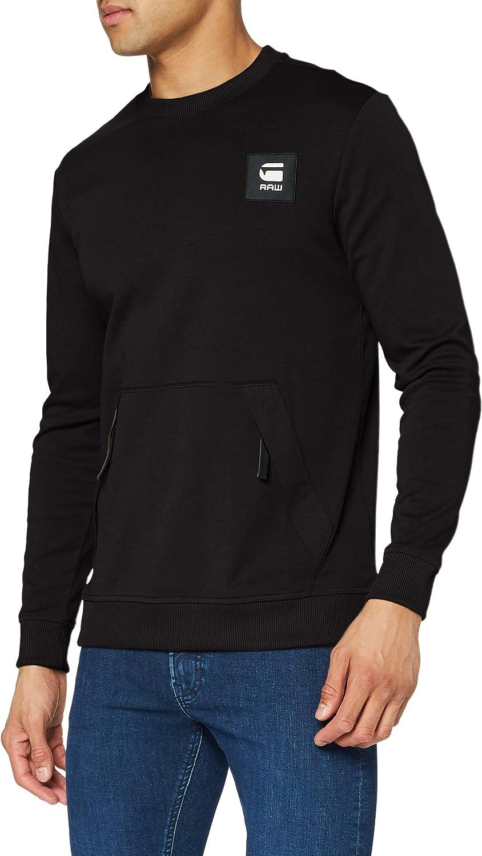 G-star Box Sales for sale Logo Pocket Tweater Max 45% OFF M