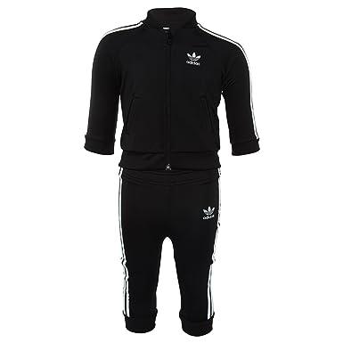 new concept 87e0a 5057b adidas Originals Baby Boys Originals Giftpack Superstar Tracksuit, Black 6M