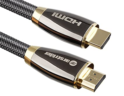 HDMI Cable 3ft HDMI 2.0 Ready 28AWG Braided Cord High Speed 18Gbps Lot 4K@60Hz