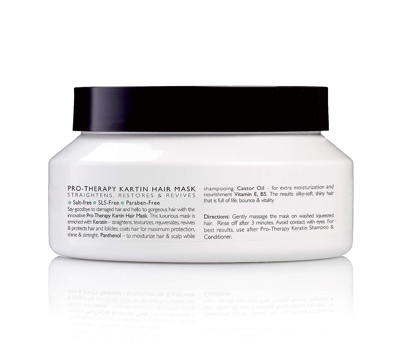 Amazon Com Emilia Pro Therapy Keratin Hair Mask Hydrating Hair