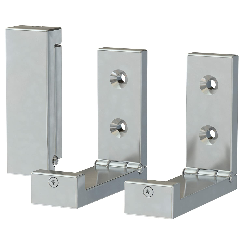 Amazon.com: IKEA BJARNUM Folding hook, aluminum 6-pack: Kitchen & Dining
