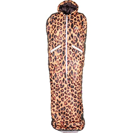 SLPY The New Wearable - Saco de Dormir (tamaño Mediano), diseño de Leopardo