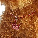 Dog Jewelry,Woaills Pet Diamante Crown Rhinestone