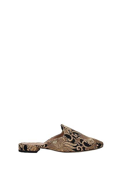 0a3ea3ad7b71 Tory Burch Slippers and Clogs Carlotta Women - Fabric (39626010) 3.5 UK