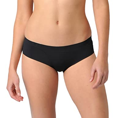 fdcdb968327 Naked Signature Seamless Womens Hipster Barely There Low Rise Underwear  Brief for Ladies - Black