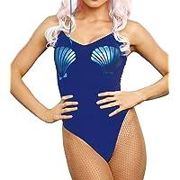 Dreamgirl Women's Metallic Mermaid Bodysuit