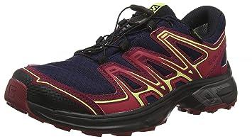 e3b4fd4b6e25 Salomon Femme Wings Flyte 2 GTX Chaussures de Trail Running, Imperméable,  Bleu (Evening