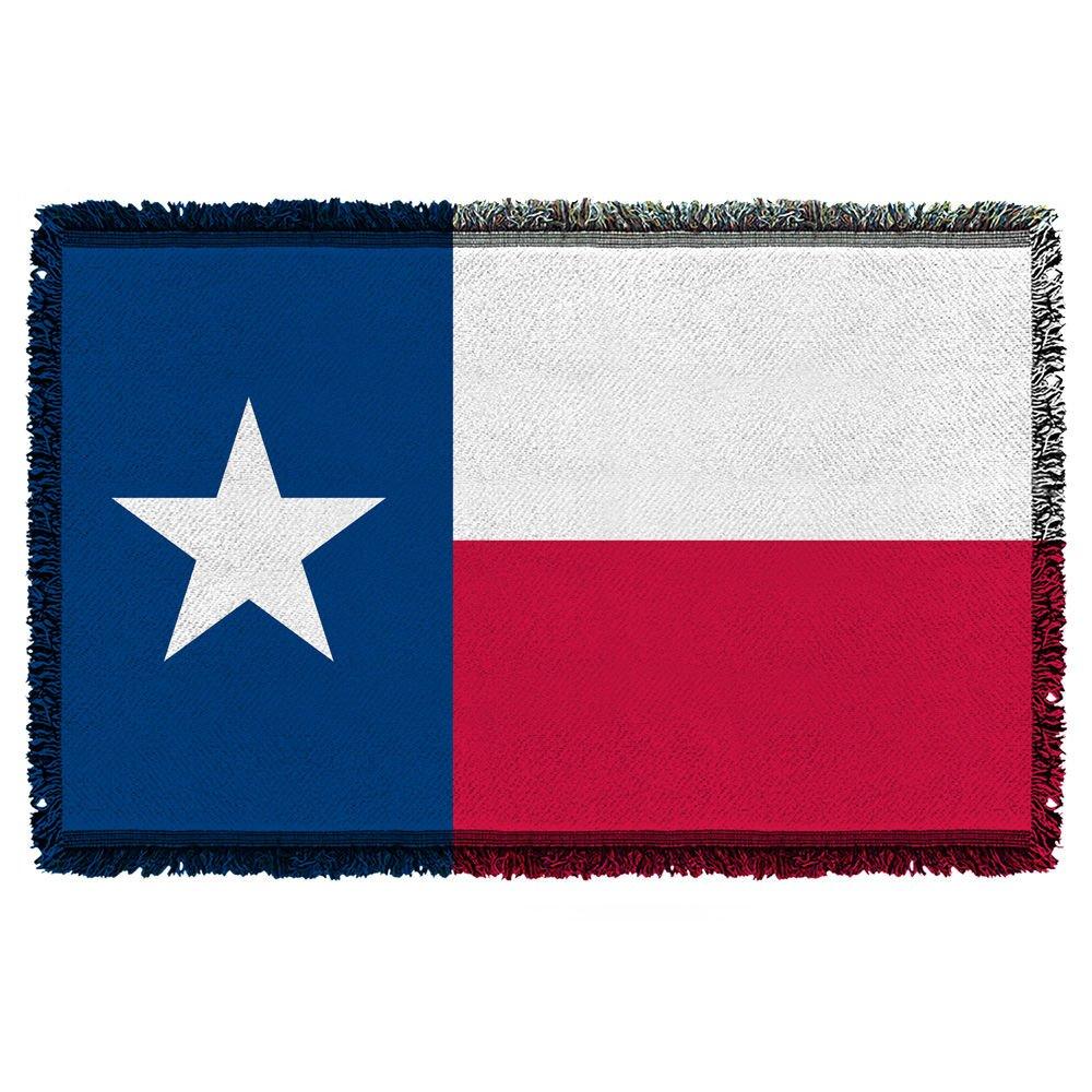 テキサス州状態フラグ – - Woven Blanketタペストリー( 36