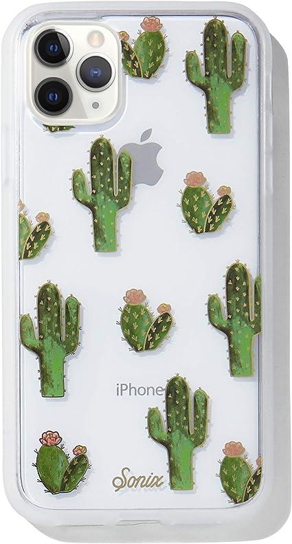 Cactus iPhone 11 Pro Case Silicone iPhone 11 Case Floral iPhone Xs Case Clear iPhone 11 Pro Max Case iPhone Xr iPhone 8 Plus Case GC0111