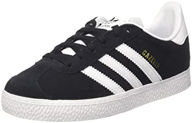 sale retailer b0846 3a464 adidas Originals Gazelle C Black Suede 1 M US Little Kid