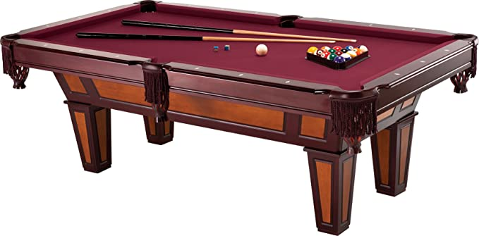 Fat Cat Reno 7.5' Pool Table with Dark Cherry Finish – Beautiful Table That Doesn't Cost a Fortune