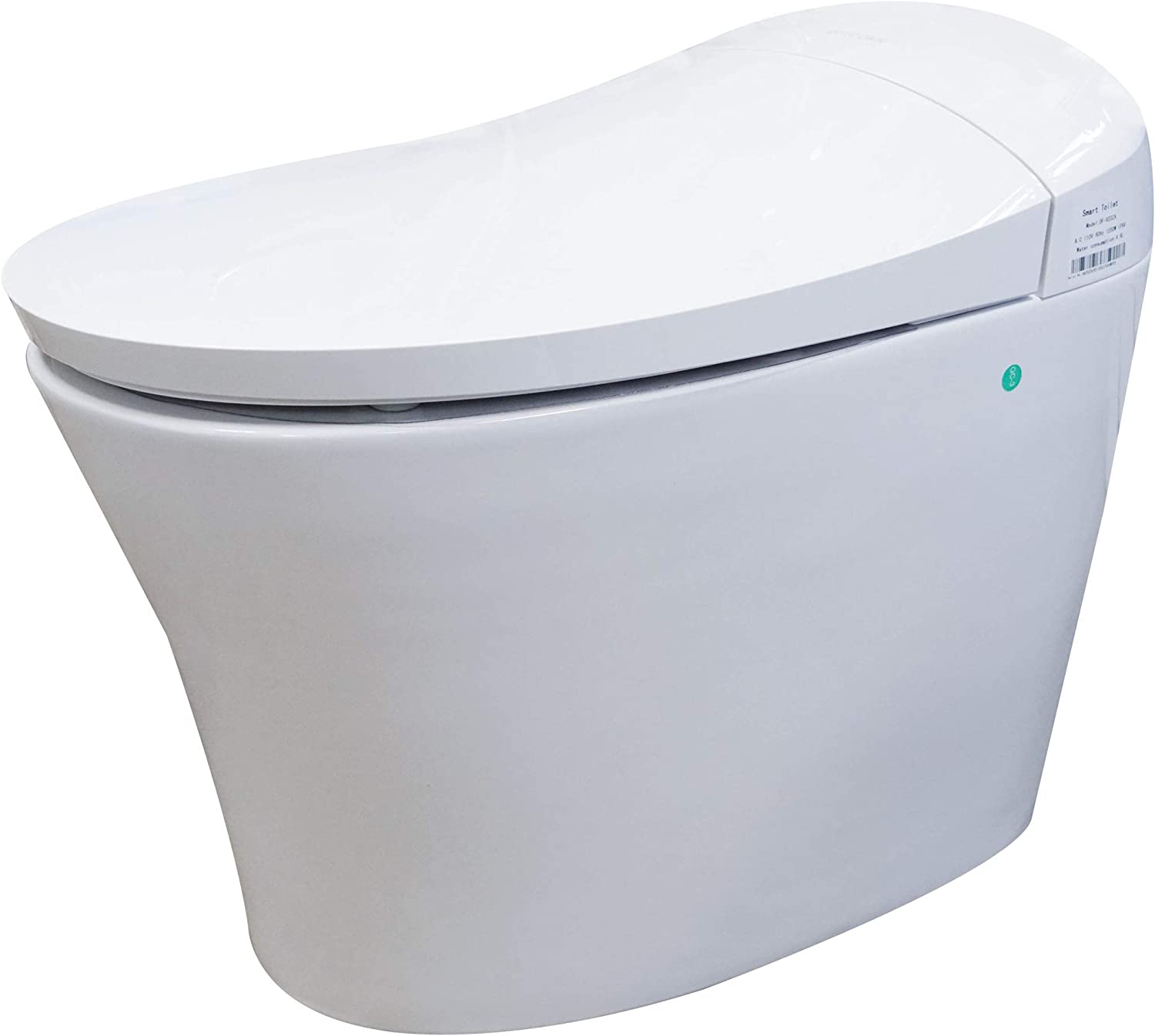 Dyconn Faucet Df 820za Arial Tankless All In One Combo Bidet Smart Toilet White Amazon Com