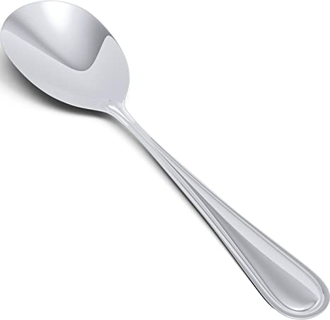 1pc Stainless Table Serving Spoons Scoop Cutlery Tableware For Kitchen Utensils