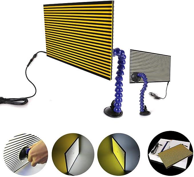 Luz LED de herramienta social reparación de abolladuras Granizo eliminación placa de línea lámpara de cuerpo auto