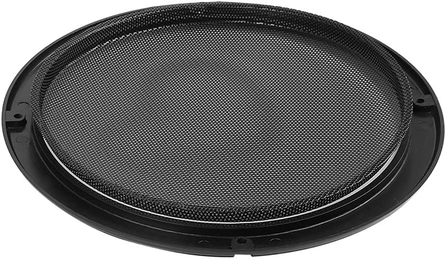 X AUTOHAUX Grill Cover 8 Mesh/Protector Black Car Speaker Cover Woofer Subwoofer Grill with Screws