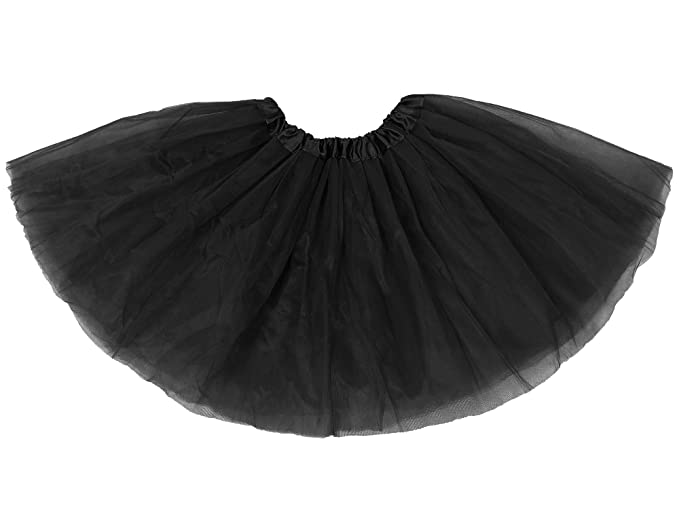 82c1f300c4 Youth Tulle Tutu 3 Layered Princess Mini Skirt for Ballet, Dress Up Costume  Party,