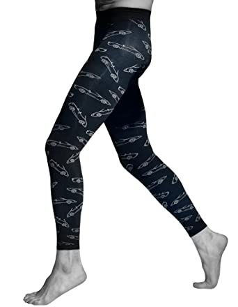 ccc5394da3 Men leggings opaque and patterned by Adrian: Amazon.co.uk: Clothing