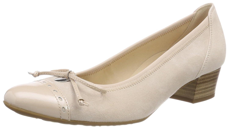 Gabor Shoes Comfort Fashion, Zapatos de Tacón para Mujer 39 EU Multicolor (Skin)