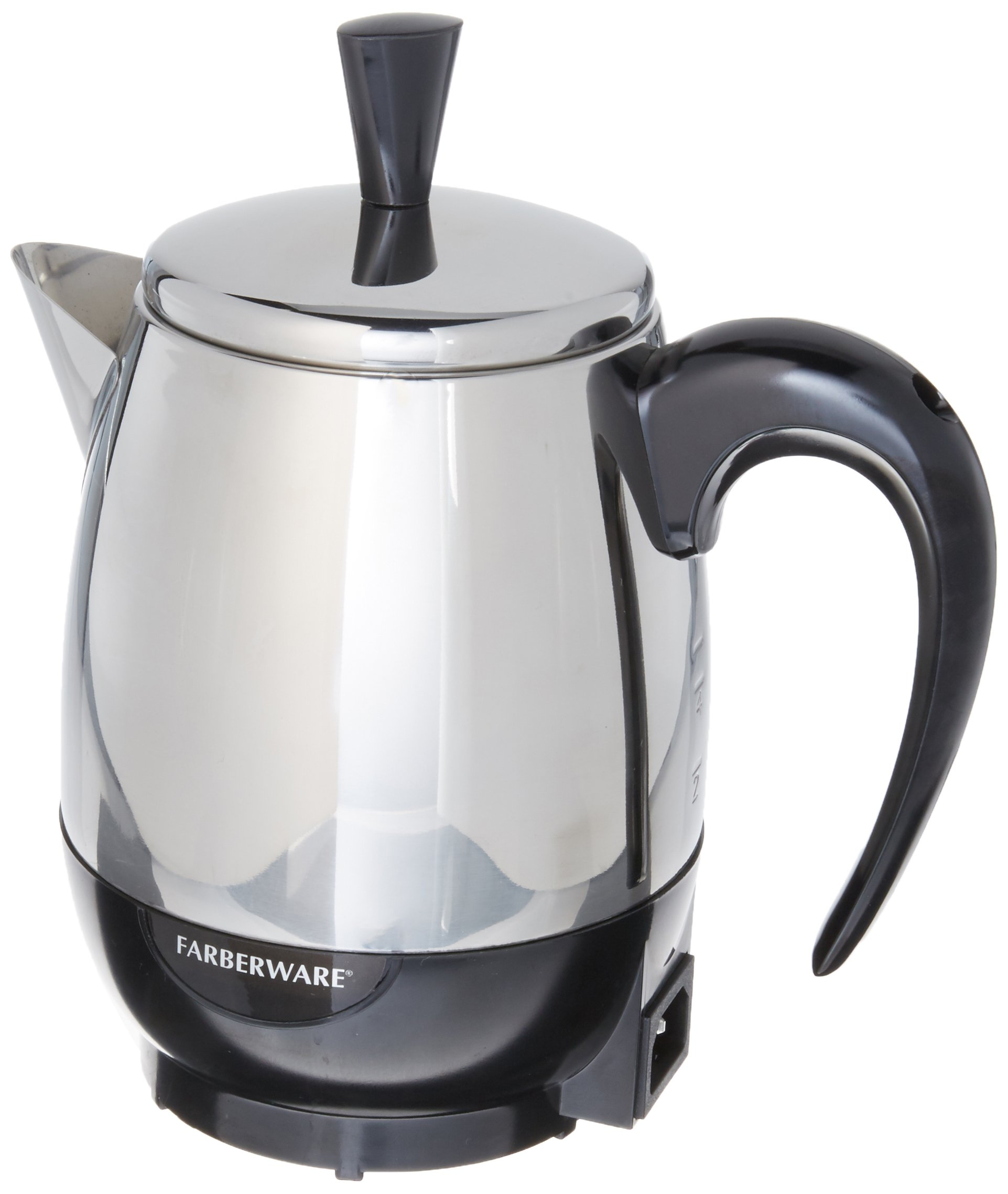 Farberware Percolator 4 Cup Stainless Steel 1000 W by Farberware
