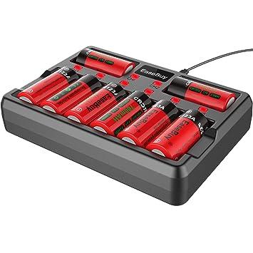 Amazon.com: EaseBuy ICR17335 - Paquete de 8 baterías de ...