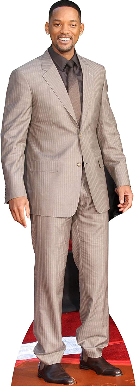 Will Smith Life Size Cutout Casual