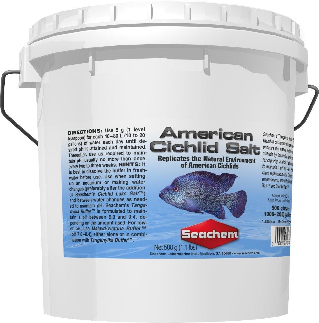 American Cichlid Salt, 4 kg / 8.8 lbs by Seachem