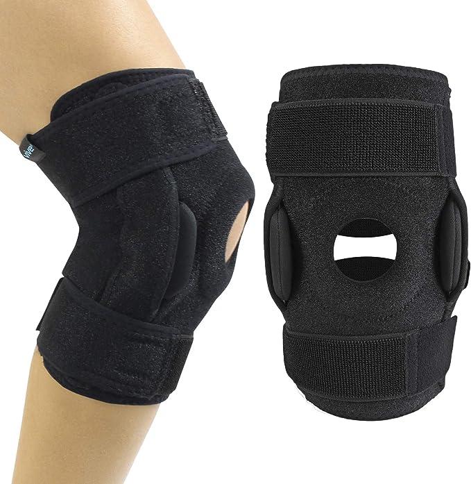 VIVE Compression Adjustable Knee Brace for Meniscus Injuries