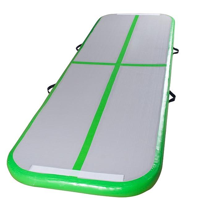 Amazon.com: Hinchable Colchoneta de gimnasio piso de aire ...