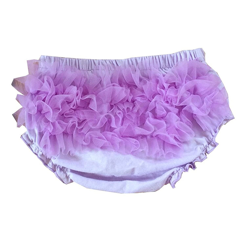 Luckyauction Baby Infant Girls Cotton Ruffle Panties Briefs Bloomer