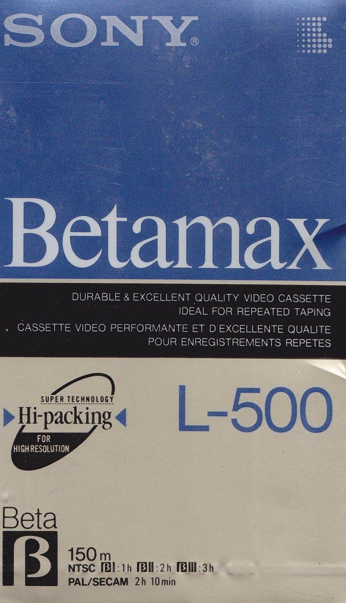 Sony L500 Beta Tape Gadgets Shop