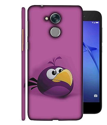 vasta selezione di c8be5 ca972 Printfidaa Honor 5C pro Back Cover Purple Colour Bird ...