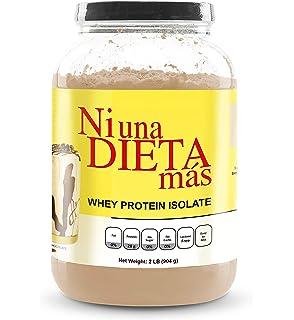 NI UNA DIETA MAS - Whey Protein Isolate (Delicious Chocolate) No Sugar, No