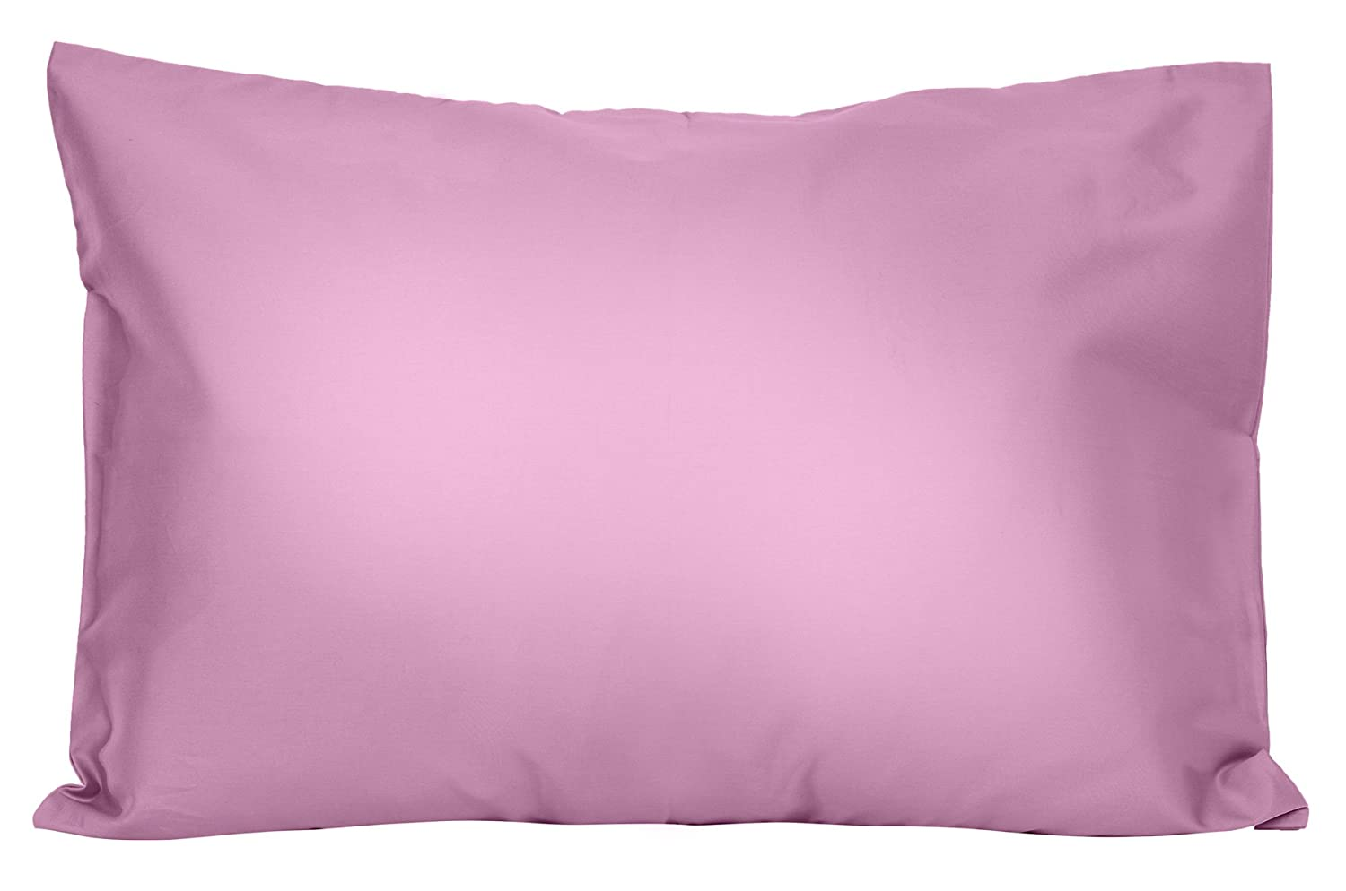 2 Pack for Pillows Sized 13x18 and 14x19-100/% Cotton with Soft Sateen Weave ZadisonJaxx Bellacolour Collection Machine Washable 2 Purple Lavender Toddler Pillowcases Envelope Style