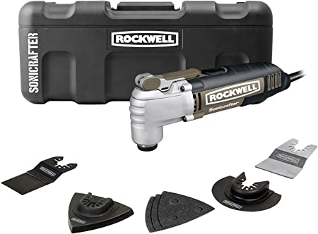 Sonicrafter F50 RK5142K NEW Rockwell Oscillating Tool 33 Piece Kit
