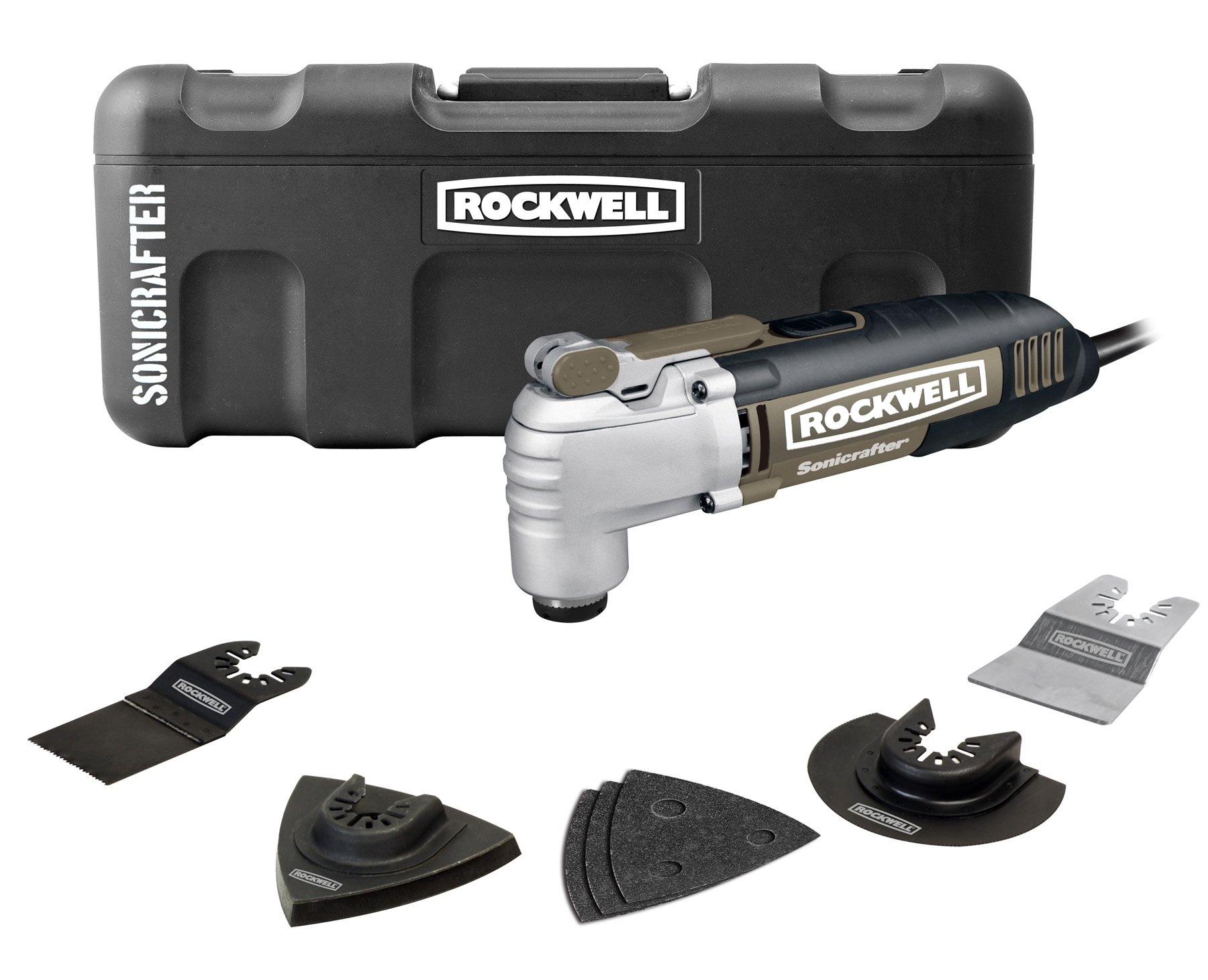 Rockwell RK5139K Sonicrafter Hyperlock with Universal Fit Oscillating Tool Kit by Rockwell