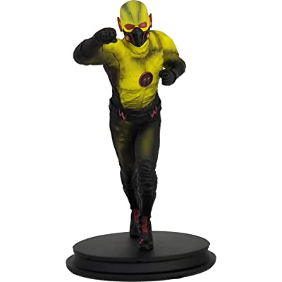 Icon Heroes The Flash TV Series: Crisis On Earth x Dark Flash Statue, Multicolor: Toys & Games
