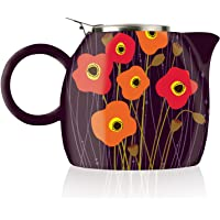 Tea Forte PUGG 24oz Ceramic Teapot with Improved