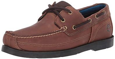 edbf29bad4 Amazon.com | Timberland Men's Piper Cove Fg Boat Shoe, Medium Brown ...