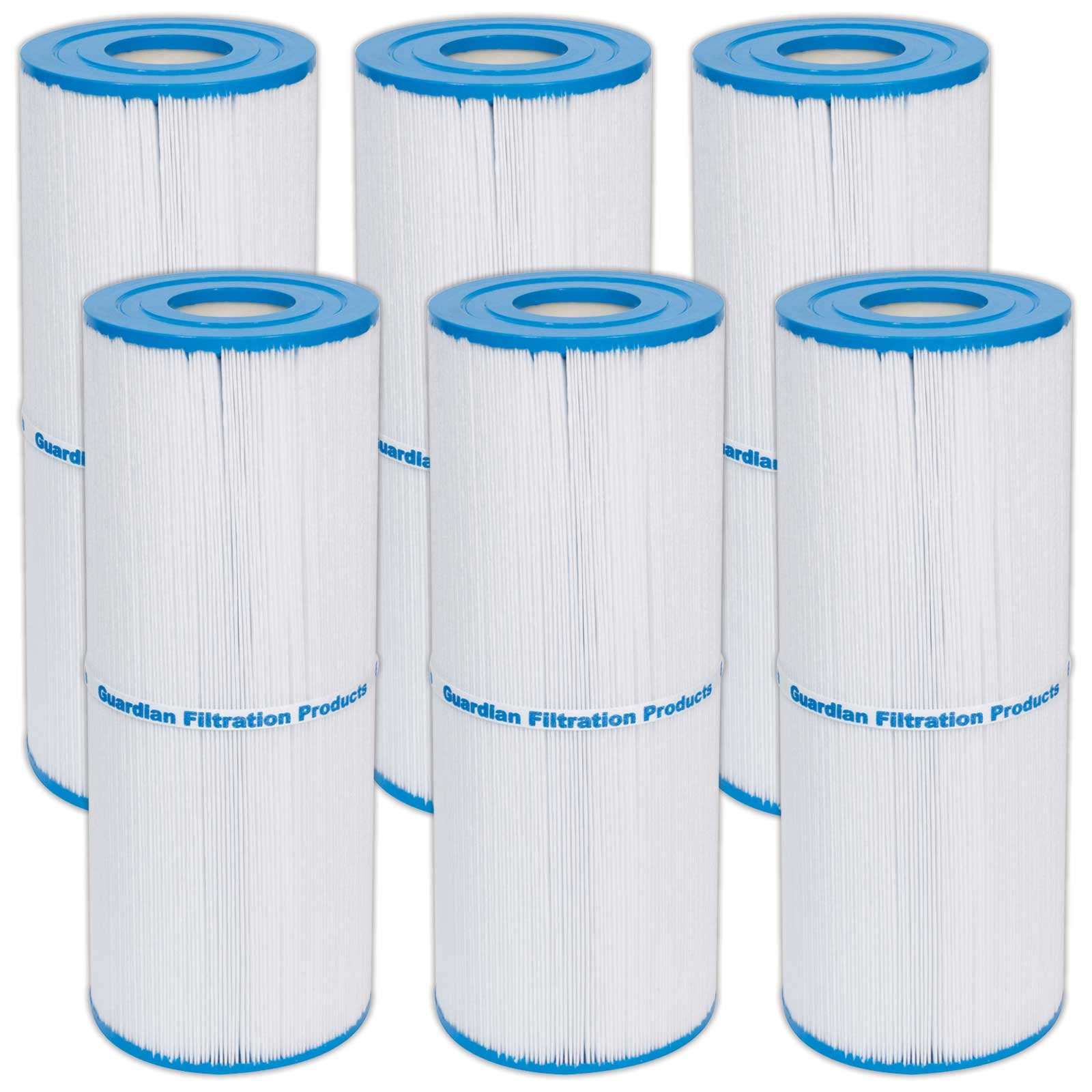 6) New Guardian Spa filters Replace: Unicel C-4950 Prb50-in Jacuzzi Cartridge by Guardian Filtration Products