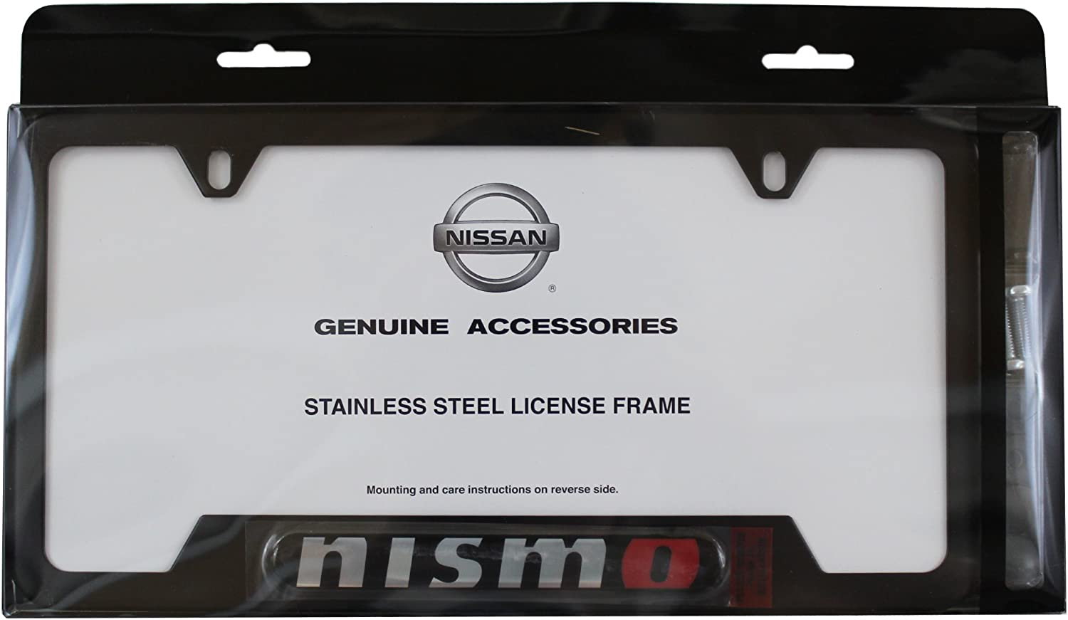 New chrome plated Hummer H3 words license plate frame front rear